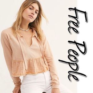 Free People Sweet Jane Pullover NWT L